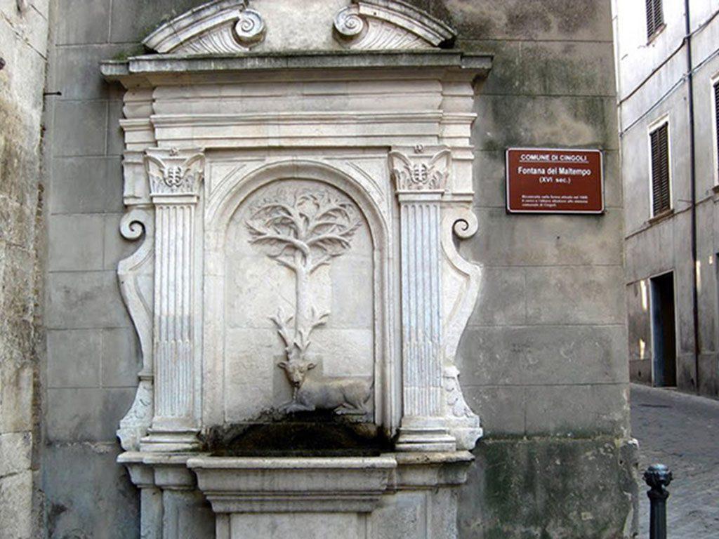 Fontana del Maltempo di Cingoli