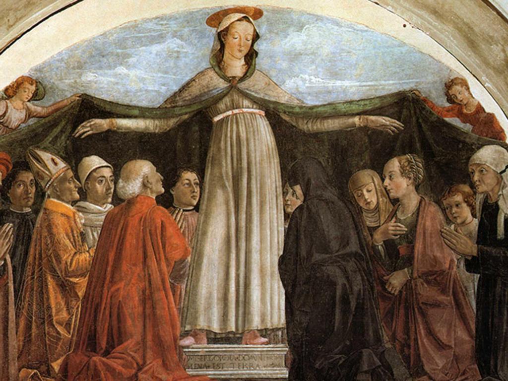 Madonna misericordia Petriolo