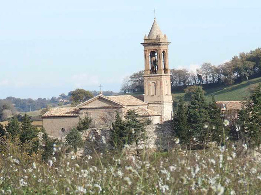 Castello di colleluce di San Severino