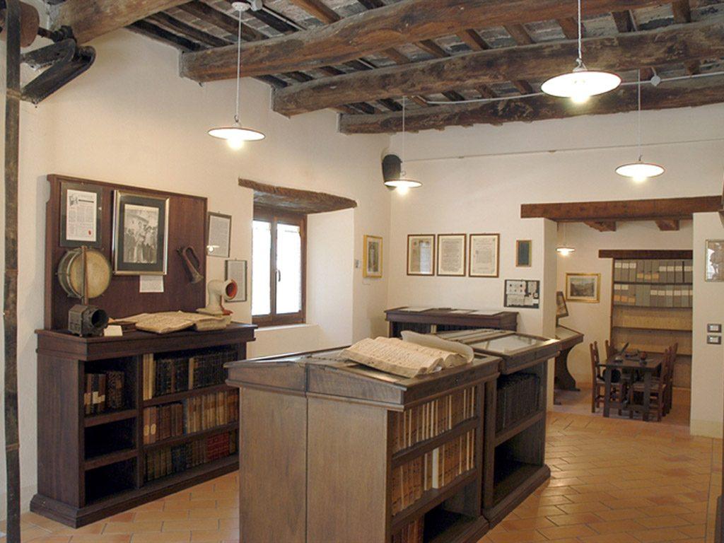 Interno archivio storico