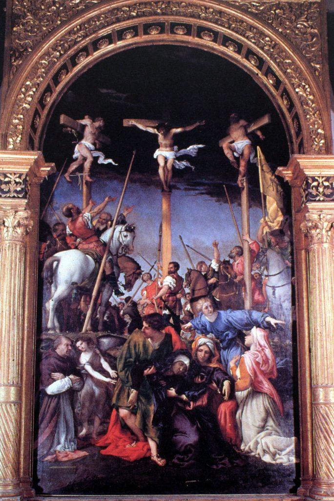 La Crocefissione, 1529-'34