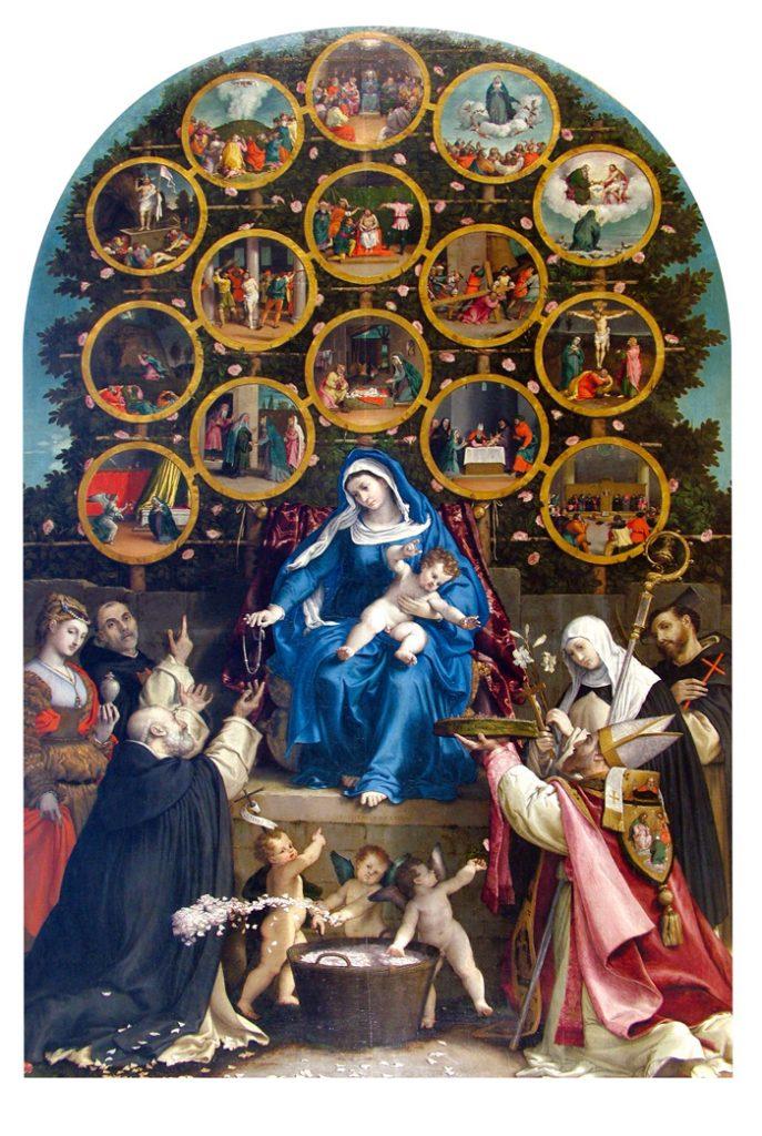 La Madonna del Rosario, 1539