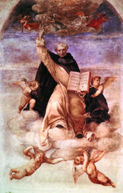 San Vincenzo Ferrer in gloria, 1513